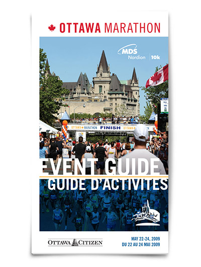 Event guide cover